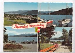 Alpenseebad Krumpendorf, Austria, Used Postcard [22327] - Austria