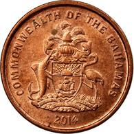 Monnaie, Bahamas, Cent, 2014, TTB, Copper Plated Steel - Bahamas