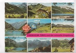 TANNHEIM - TIROL, Und Die Reizvolle Umgebung, Austria, Used Postcard [22328] - Tannheim
