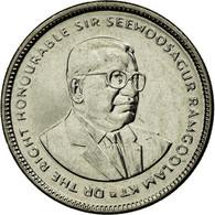 Monnaie, Mauritius, 20 Cents, 2012, TTB, Nickel Plated Steel, KM:53 - Maurice