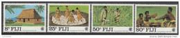 FIJI, 1983 COMMONWEALTH DAY 4 MNH - Fiji (1970-...)