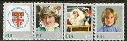 FIJI, 1982 DIANAS BIRTHDAY 4 MNH - Fiji (1970-...)