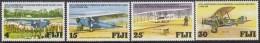 FIJI, 1978 PLANES 4 MNH - Fiji (1970-...)