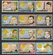REPUBBLICA DELL'ALTO VOLTA 1974 SEGNI ZODIACALI YVERT. 308-319 USATA VF - Alto Volta (1958-1984)