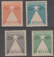 SURINAM - 1947 Star. Scott B47-48, CB4-5. Mint Light Hinge - Surinam ... - 1975