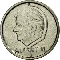 Monnaie, Belgique, Albert II, Franc, 1996, TTB, Nickel Plated Iron, KM:188 - 02. 1 Franc