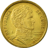 Monnaie, Chile, 10 Pesos, 2012, Santiago, TTB, Aluminum-Bronze, KM:228.2 - Chile