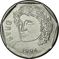 Monnaie, Brésil, 25 Centavos, 1994, TTB, Stainless Steel, KM:634 - Brésil
