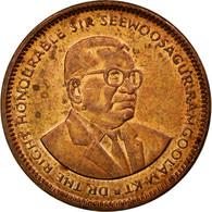 Monnaie, Mauritius, 5 Cents, 2003, TTB, Copper Plated Steel, KM:52 - Maurice
