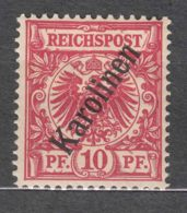 Germany Colonies Caroline Islands, Karolinen 1900 Mi#3 II Mint Hinged - Colony: Caroline Islands
