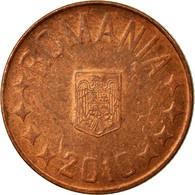 Monnaie, Roumanie, 5 Bani, 2010, Bucharest, TTB, Copper Plated Steel, KM:190 - Roumanie