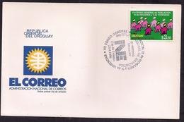 Uruguay - 1996 -  FDC - VII Recensement Général De La Population - II Des Ménages Et V Du Logement - Uruguay