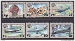 FIJI, 1983 MANNED FLIGHT 6 MNH - Fiji (1970-...)