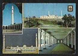 United Arab Emirates UAE Abu Dhabi 4 Scene Picture Postcard Grand Mosque Abu Dhabi View Card U A E - Dubai