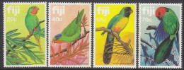 FIJI, 1983 PARROTS 4 MNH - Fiji (1970-...)