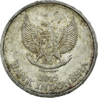 Monnaie, Indonésie, 100 Rupiah, 2005, TB+, Aluminium, KM:61 - Indonésie