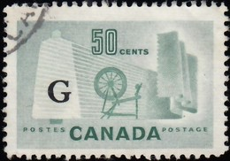 Canada - Scott # O38 Official 'Overprinted' / Used Stamp - Officials