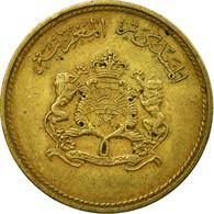 Monnaie, Maroc, Al-Hassan II, 5 Santimat, 1974/AH1394, Paris, TB+ - Maroc