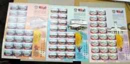 Malaysia 2018 China  Chinese Jit Sin School Centenary Building Flowers Music Dance Set Full Sheet Sheelet MNH - Malaysia (1964-...)