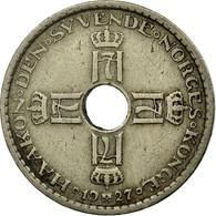 Monnaie, Norvège, Haakon VII, Krone, 1927, TTB, Copper-nickel, KM:385 - Norvège