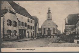 CPA 67 DIEMERINGEN Grussaus - Année 1918 - Diemeringen