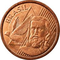 Monnaie, Brésil, 5 Centavos, 2013, TTB, Copper Plated Steel, KM:648 - Brésil
