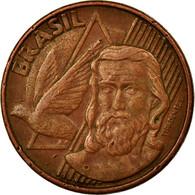 Monnaie, Brésil, 5 Centavos, 2007, TTB, Copper Plated Steel, KM:648 - Brésil