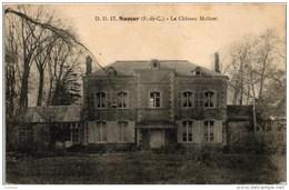 CPA - SAMER - LE CHATEAU MOLINET - FRANCE  (2 SCANS) - Samer