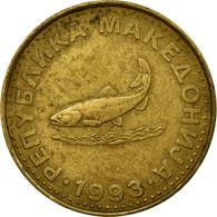 Monnaie, Macédoine, 2 Denari, 1993, TB+, Laiton, KM:3 - Macédoine