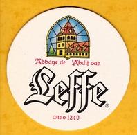 Sous-bock Cartonné - Bière - Belgique - Abbaye De Leffe - Abdij Van Leffe - Beer Mats