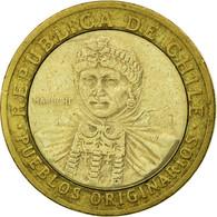 Monnaie, Chile, 100 Pesos, 2006, Santiago, TB+, Bi-Metallic, KM:236 - Chile