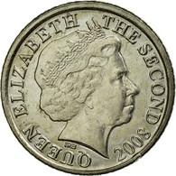 Monnaie, Jersey, Elizabeth II, 5 Pence, 2008, TTB, Copper-nickel, KM:105 - Jersey