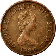 Monnaie, Jersey, Elizabeth II, Penny, 1986, TTB, Bronze, KM:54 - Jersey