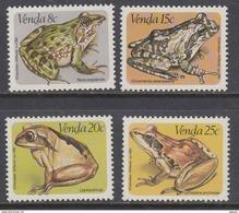 070521 REPTILES Amphibians FROGS Africa Venda MNH Set 1982 - Afrique Du Sud Afrika RSA Sudafrika - Venda