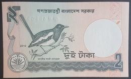 E11g2 - Bangladesh Banknote, 2010, 2 Taka, UNC, Bird - Bangladesh