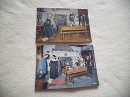 LOT DE 2 CARTES MUSEE BOURGUIGNON PERRIN DE PUYCOUSIN ...TOURNUS - Musées