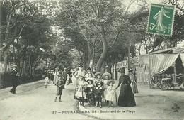 17  FOURAS LES BAINS - BOULEVARD DE LA PLAGE (ref 3106) - Fouras-les-Bains