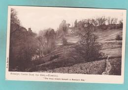 Old Post Card Of Rosslyn Castle,Roslin In Midlothian, Scotland.,R75. - Autres