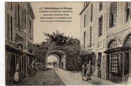 Dieppe Bibliotheque Porte Gosselin Rue De La Moriniere - Dieppe