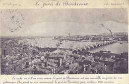 Le Port De Bordeaux RV Prix Des Vins De M De Binos Au Reiges Du  Preux Haut Medoc - Bordeaux