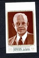 Ajman Dwight Eisenhower Non Dentelé - Celebrità