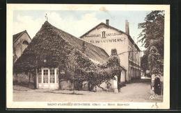 CPA Saint-Florent-sur-Cher, Hôtel Roseville - Saint-Florent-sur-Cher