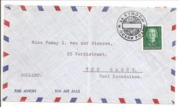 Scheepspost-Maritime Mail. OCEAN POST S.s.RYNDAM. Enface HC531 Enkel - Periode 1949-1980 (Juliana)