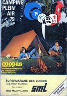 """Catalogue """"Camping Plein Air 1979. - Publicidad"""