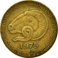 Monnaie, Algeria, 20 Centimes, 1975, Paris, TB+, Aluminum-Bronze, KM:107.1 - Algérie