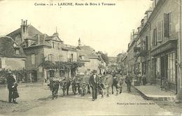 19  LARCHE - ROUTE DE BRIVE A TERRASSON (ref 3125) - France