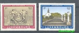 Luxembourg 1986 Mi 1160-1161 MNH ( ZE3 LXB1160-1161 ) - Architecture