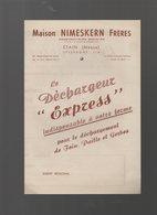 Etain (55 Meuse)  Publicité DECHARGEUR EXPRESS (matériel Agricole) ((PPP9767) - Publicités