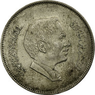 Monnaie, Jordan, Hussein, 100 Fils, Dirham, 1984/AH1404, TB+, Copper-nickel - Jordanie