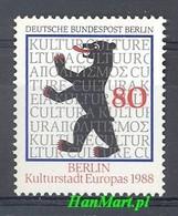 Berlin Germany 1988 Mi 800 MNH ( ZE5 DBE800 ) - Stamps